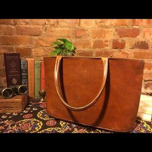 VTG English Saddle Bag